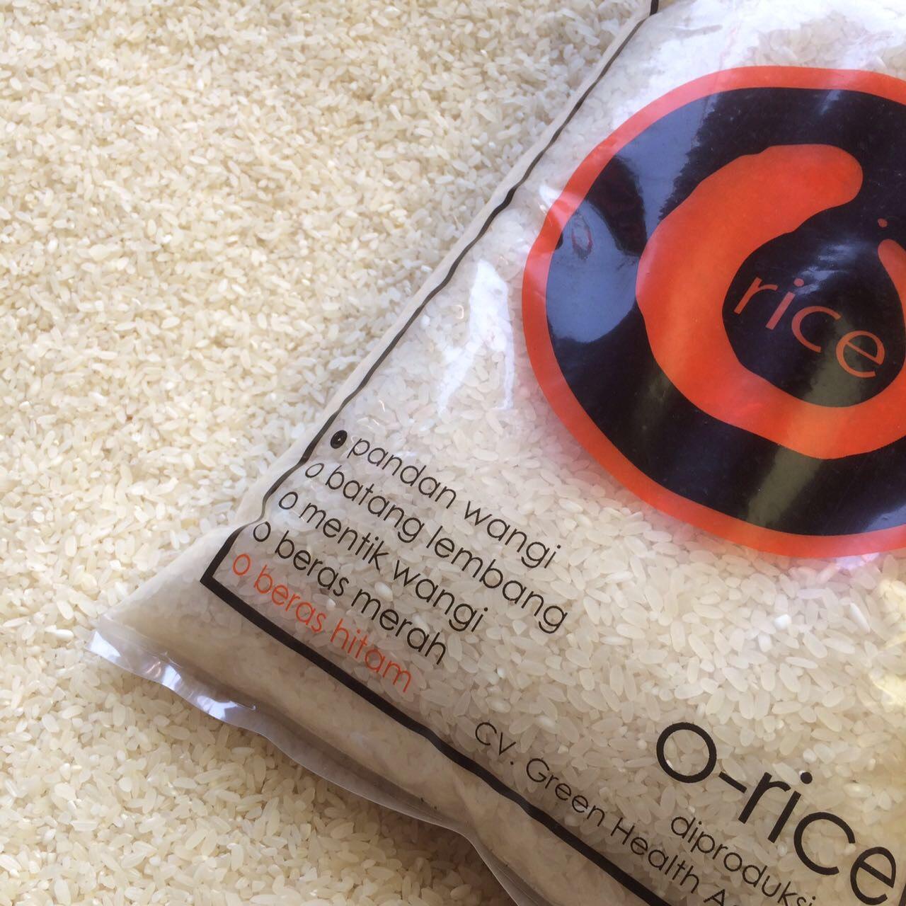 Beras organik o-rice Beras Organik O-rice